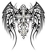 tribal_wings_tattoo