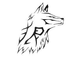 tribal_wolf_face_tattoo