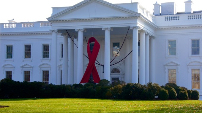 AIDS Awareness, White House