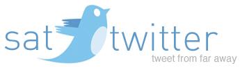 Satellite to Twitter