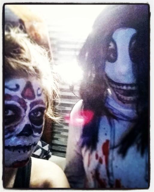 Jeff the Killer & Dia de los Muertos celebrator!