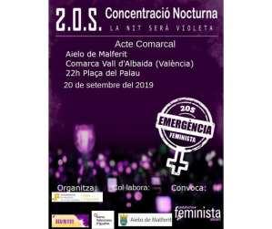 Concentració Nocturna: La nit serà violeta