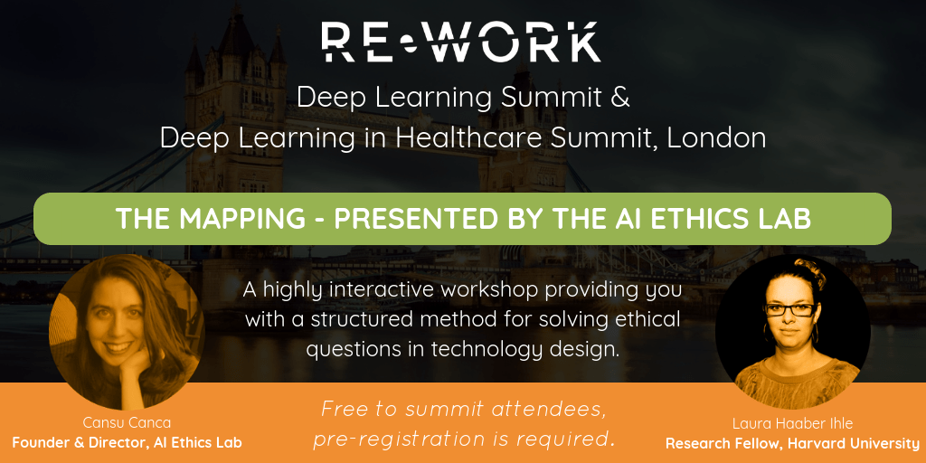 Re-Work Deep Learning Summit, London – 20-21.9.2018