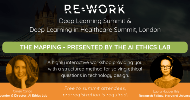 Re-Work Deep Learning Summit London – 20-21.9.2018