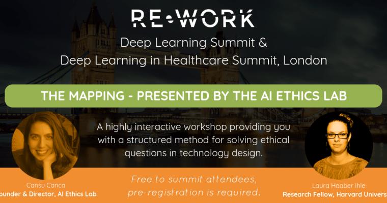 Re-Work Deep Learning Summit, London – 20-21.9.2018