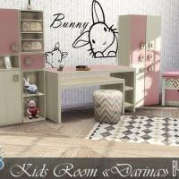 """Мебель для детской комнаты The Sims 4 """"Darina""""."""