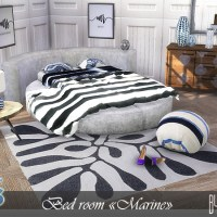 "Мебель для спальни The Sims 4  ""Marine"""