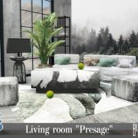 """Набор мебели и декора для гостиной""""Presage"""""""