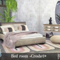 """Набор мебели и декора для спальни """"Croshet"""""""