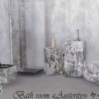 """Набор мебели для ванной комнаты """"Austerity"""""""