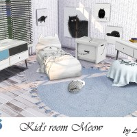 Мебель и декор для детской комнаты Meow
