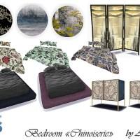Мебель и декор для спальни Chinoiserie