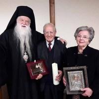 Η Ιερά Μητρόπολις Καλαβρύτων και Αιγιαλείας τίμησε τον θεολόγο, νομικό και συγγραφέα Ευάγγελο Λέκκο
