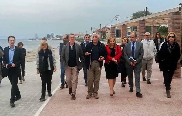 Στο Αίγιο στελέχη της Ευρωπαϊκής Επιτροπής – Επισκέφθηκαν έργα που χρηματοδοτήθηκαν από το  Πρόγραμμα «Δυτική Ελλάδα 2014-2020»