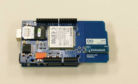 Arduino GSM/GPRS Shield