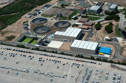 Terciari de la depuradora de Vila-seca i Salou.