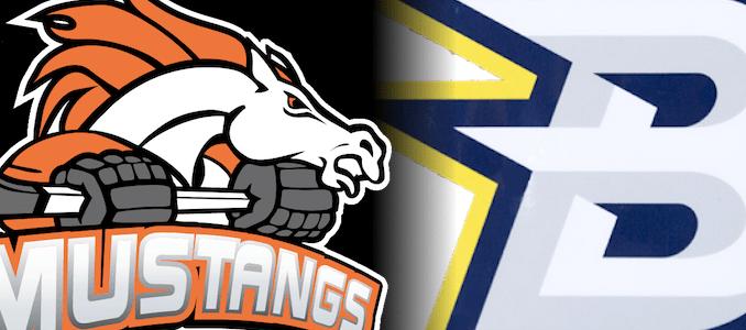 Mustangs vs Brave