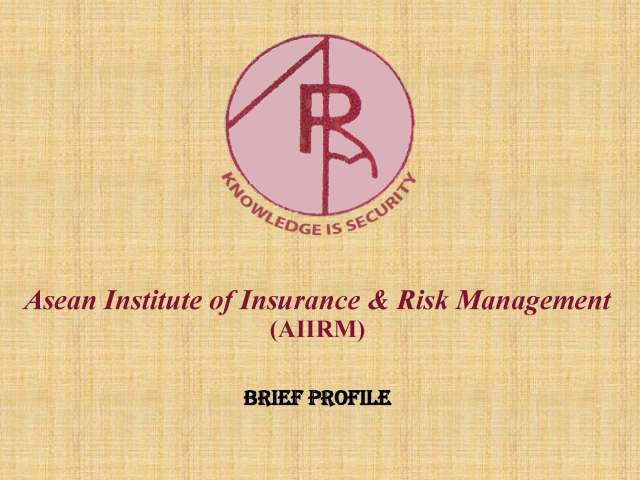 PROFILE - ASEAN INSTITUTE OF INSURANCE RISK MANAGEMENT (AIIRM)_Page_01
