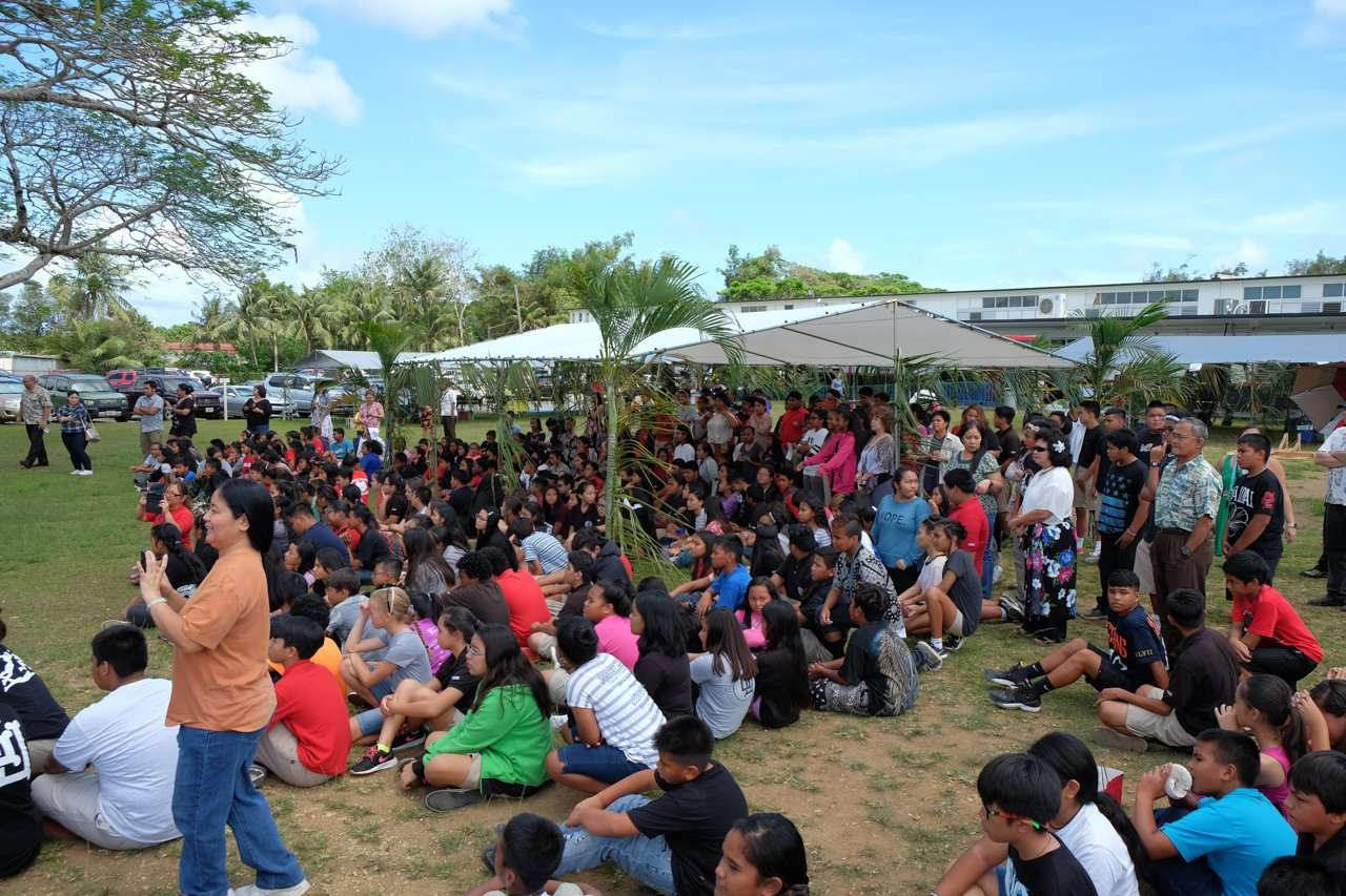 Mes Chamoru Festpac Activity Agueda I Johnston Middle School