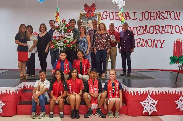 Commemoration Ceremony in honor of Agueda I. Johnston