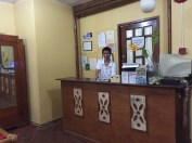 Very accomodating receptionist