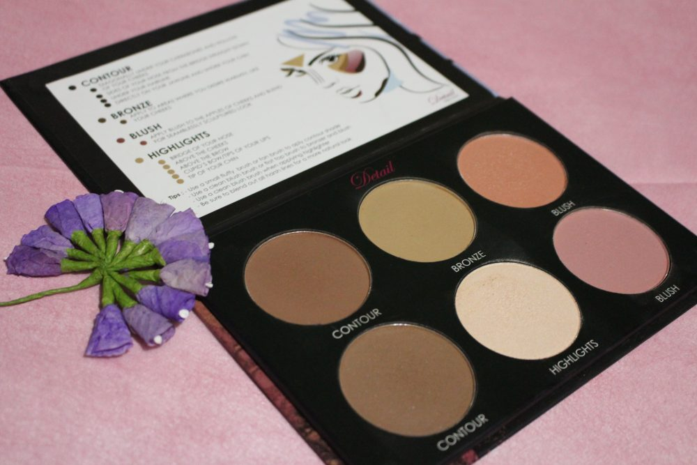 Detail Make Over Contour and Blush Effects Palette Review