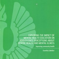 Παρουσίαση βιβλίου: Exploring the Impact of Mental Health Education on Adolescents' Perceptions About Mental Health and Mental Illness - Improving community health