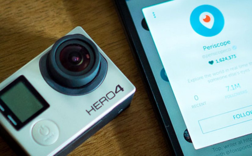 Periscope + GoPro: streaming extremo