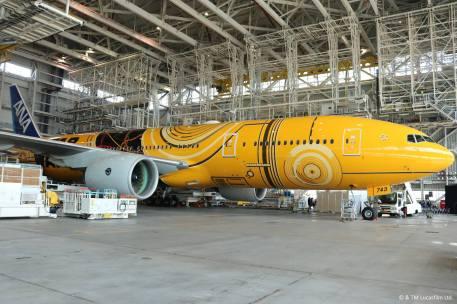 El avión de C-3PO.