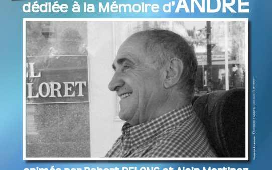 Dimanche 6 Mai 2018 Rencontre amicale dédiée à la mémoire d'André
