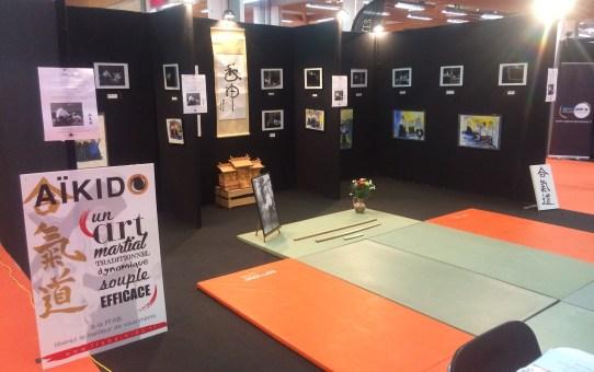 Stand AÏKIDO FFAB à la Foire Internationale de Toulouse