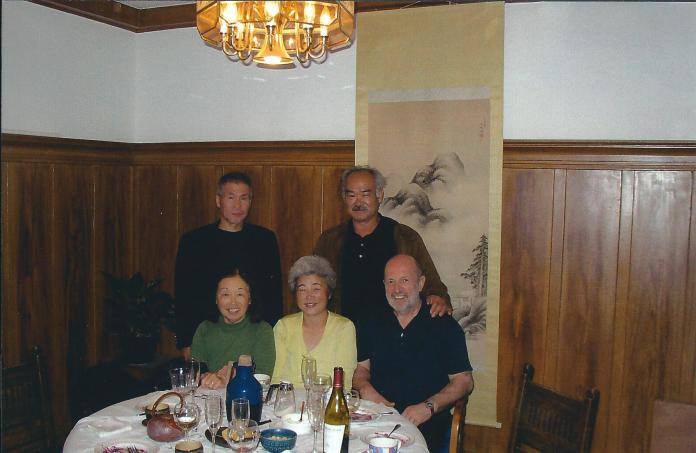 Miyamoto Sensei, Chiba Sensei, Gloria Nomura, Mme Chiba – 30 juin 2006