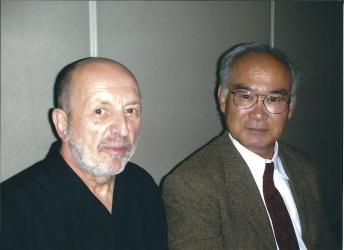 Avec Chiba Sensei. Novembre 2006, Tokyo