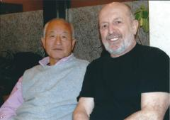 Avec Masuda Sensei, vers 2006