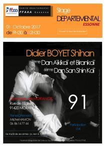 [:fr]Stage - 01 Octobre '17 - Morangis[:en]Stage - October 1st '17 - Morangis[:] @ Gymnase Claude Bigot