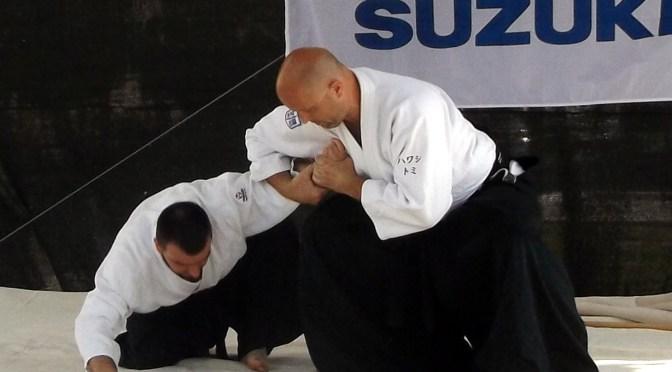 Aikido bemutató az esztergomi Egészségnapon