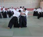 Curso Nacional de Aikido en Alicante, Tomás Sánchez y Roberto Sánchez, noviembre 2015 (Roberto)