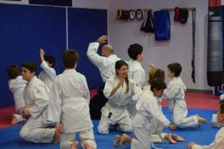 20160210 clase Aikido Kids (infantil y juvenil) Aikido Aikikai San Vicente - Alicante - DSC_0103