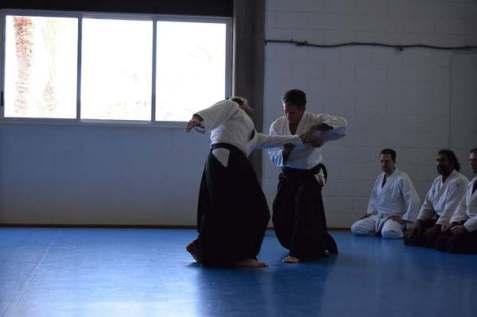 20160220 clase conjunta grupos Aikido Aikikai San Vicente - Universidad de Alicante y Dojo San Vicente - 010