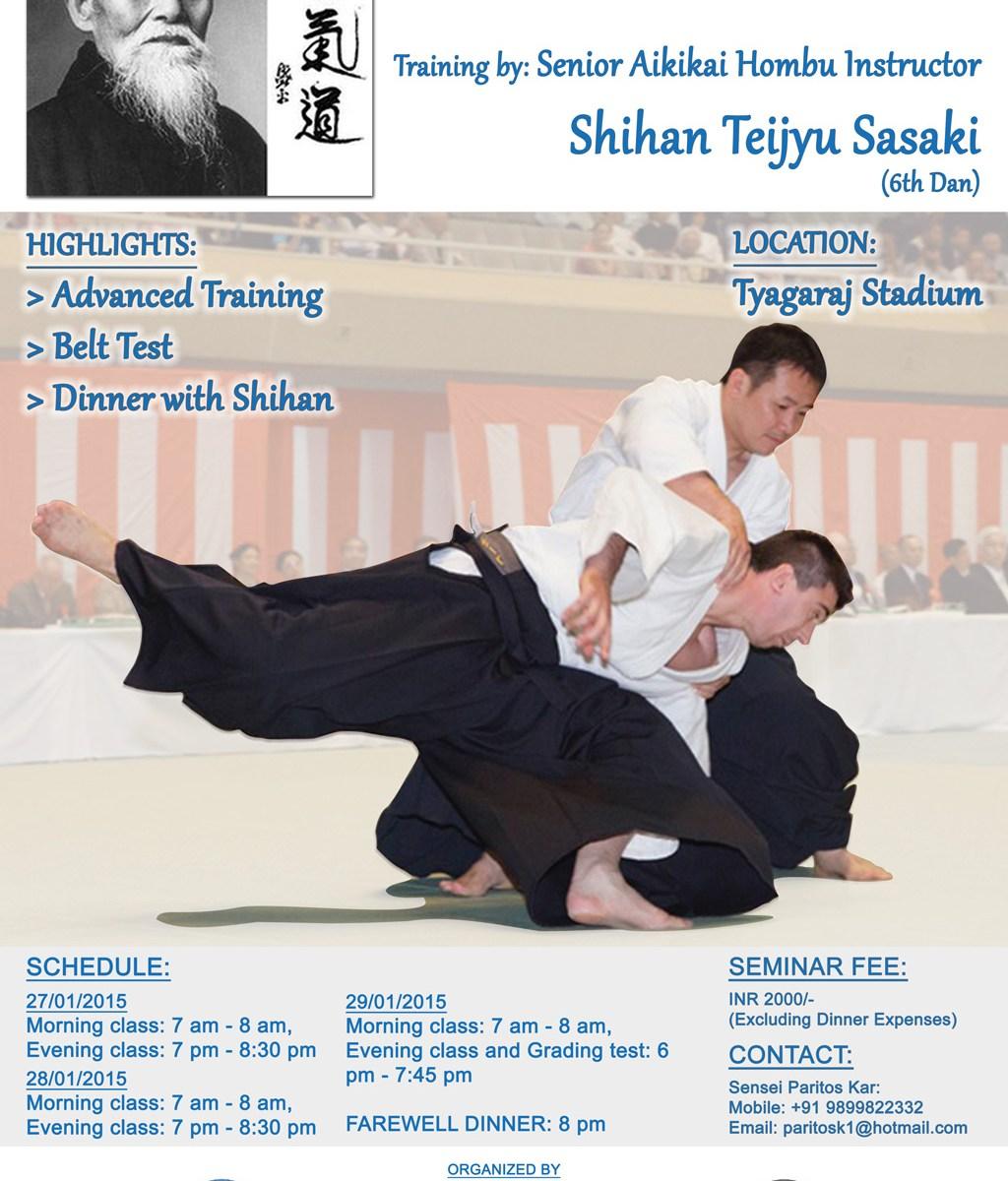 Aikido Seminar Jan 2015