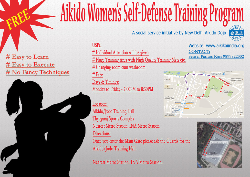 Aikido Women's Self Defense - Aikido Women's Self Defense - 2019