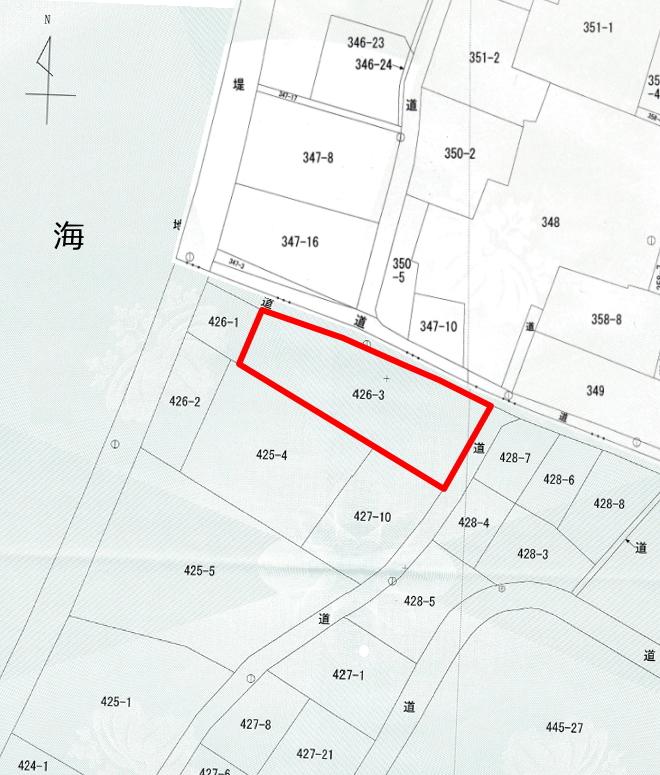 松山市久保 売土地 150坪