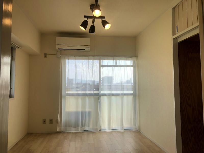賃貸マンション 2DK 現空 角部屋×北欧風×自由壁×ハンモック 松山市生石町