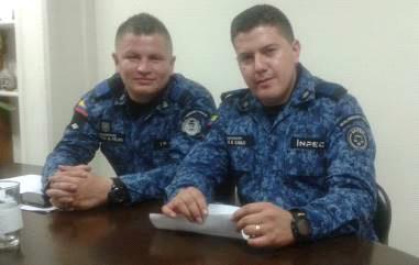 De izq. a der.: Esteban Jurado y Felipe Quimbayo
