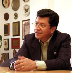 Luis Alejandro Pedraza. Presidente de la CUT