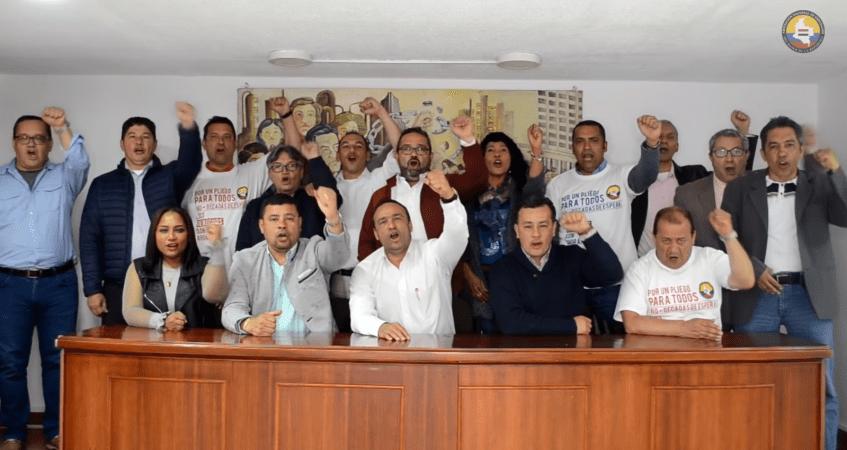 convención colectiva en el Banco de la República