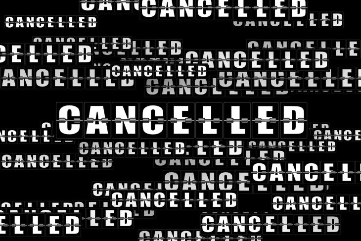 Cancellation via pixabay