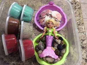 Mermaid Play Dough Set