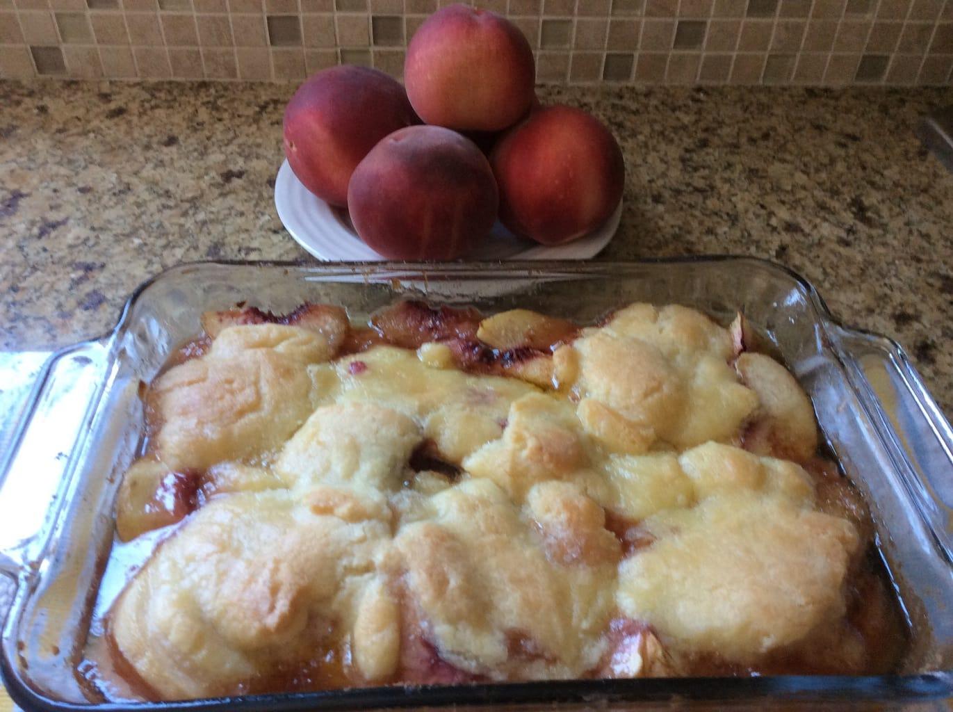 Peach Cobbler Recipe | Aileen Cooks