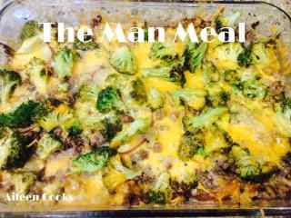 The Man Meal (Poor Man's Steak and Potato Casserole)